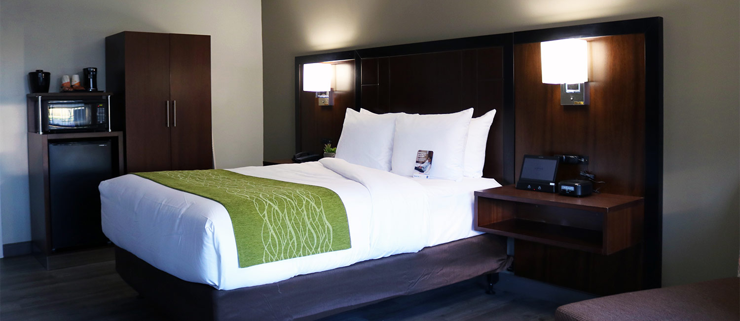 Brand New Remodeled Antioch Hotel Rooms