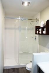 Shower in Full Bathroom