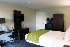 1 Queen Bedroom at Comfort Inn Antioch